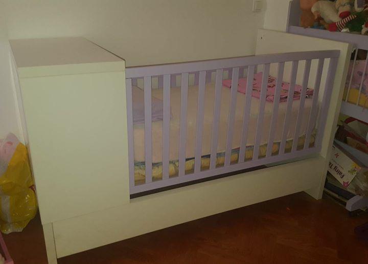 Dječji krevet i madrac