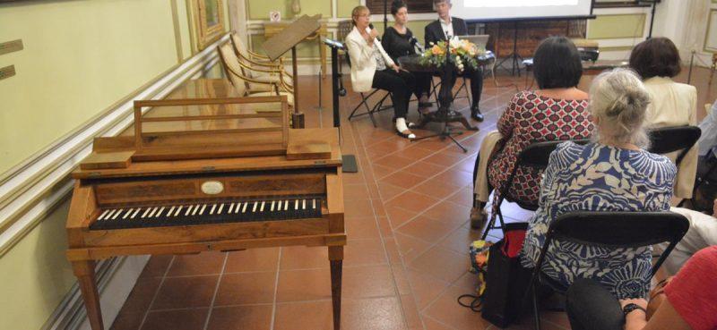 FOTO Predstavljena multimedijalna prezentacija fortepijana iz Kneževa dvora