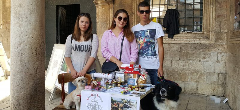 SVAKA ČAST Vrijedni mladi volonteri skupljali donacije za životinje na Žarkovici