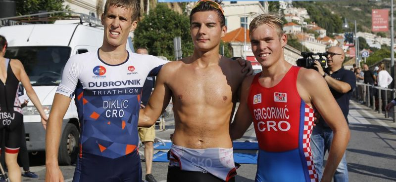 FOTO/VIDEO Luka i Zara osvojili drugi Dubrovnik Aquathlon