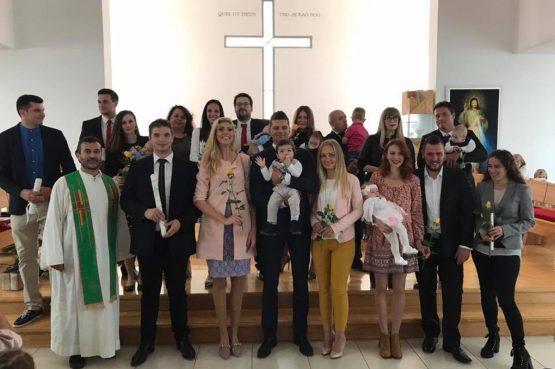 U Mihajla kršteno šestero djece, među njima i dva para blizanaca!