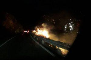 NA MAGISTRALI Dubrovački vatrogasci brzom reakcijom ugasili požar