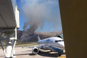 Požar u Gabrilima pod kontrolom, izgorjelo 40 hektara borove šume