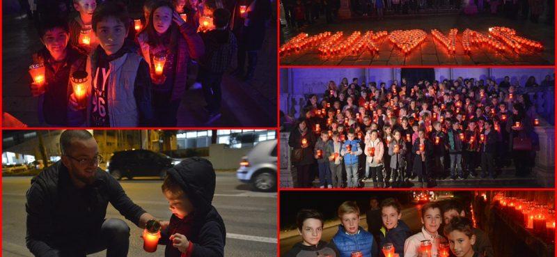 FOTO/VIDEO Lampioni u spomen na žrtvu Grada heroja