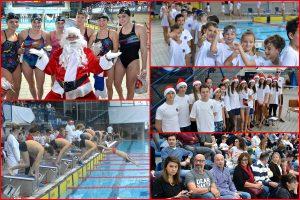 FOTO Festu plivanja u Gružu promatrao je i Djed Božićnjak