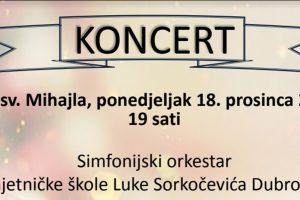 U CRKVI SV. MIHAJLA Koncert pedeset mladih glazbenika!