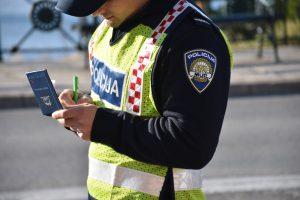 TJEDAN NA CESTAMA 'Plavci' ispisali 438 kazni!