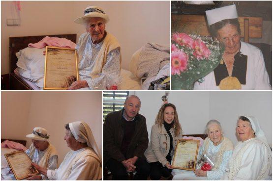 Tete Ane Carević napunila je 103, a ne odriče se ni smisla za šalu ni pletenice!