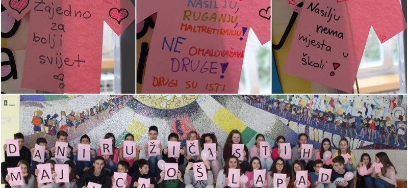 STOP NASILJU Dan ružičastih majica u OŠ Lapad
