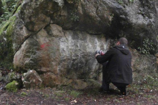 Uklonjeni grafiti sa stijena posebnog rezervata Kočje