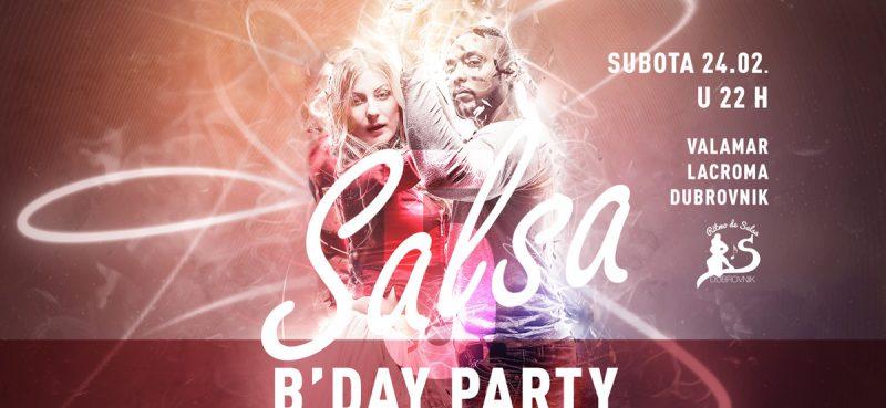 PET GODINA UDRUGE RITMO DE SALSA U subotu u Lacromi veliki rođendanski party!