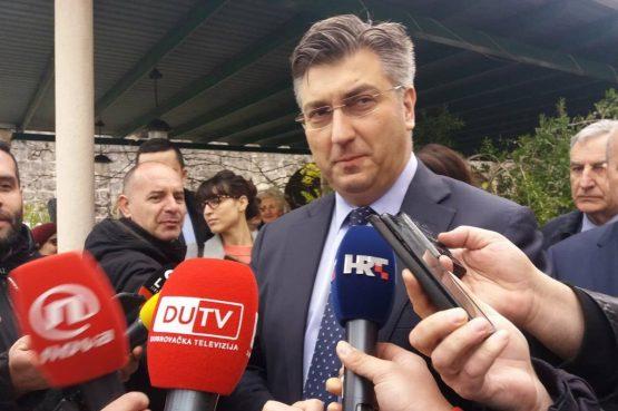 PLENKOVIĆ U OREBIĆU Pelješki most ćemo realizirati sigurno na početku idućeg mandata