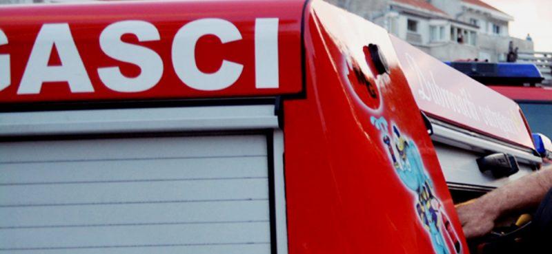 ŽC 112 Brzom reakcijom vatrogasaca izgašen požar u Metkoviću