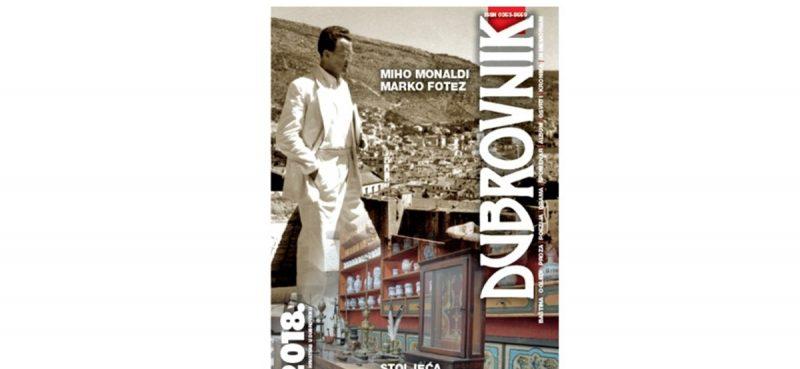 Što nam donosi novi broj Časopisa Dubrovnik?