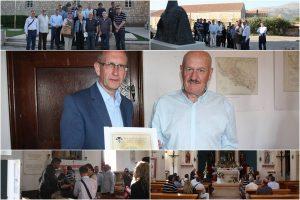 Načelnik Božo Lasić primio članove Zbora ratnih izvjestitelja HRT-a