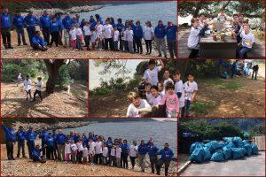 EKO AKCIJA NA MLJETU Mali i veliki zajedničkim snagama očistili obalu Velikog jezera
