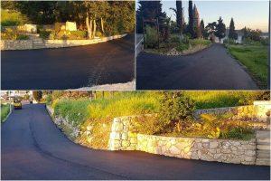 TRSTENO 'Makeover' pristupne cesta prema crkvi sv. Vida