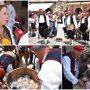 FOTO Konavljani Dubrovčanima donijeli vina i led s vrhova Sniježnice