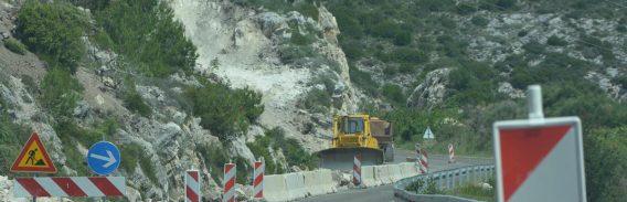 Ponovno se minira na gradilištu Graničnog prijelaza Gornji Brgat