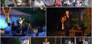 FOTO / INTIMNA ATMOSFERA Ibrica Jusić pjesmom ispunio toplu ljetnu večer