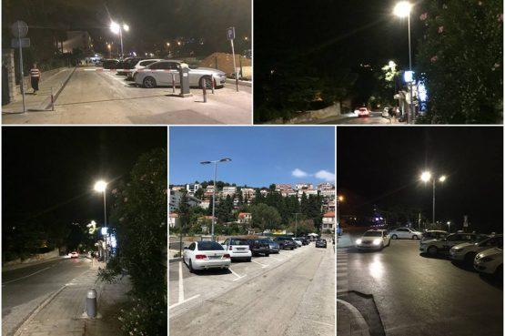 MASARYKOV PUT I PUT REPUBLIKE Grad Dubrovnik uložio 50 tisuća kuna za javnu rasvjetu
