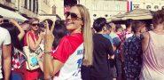 VIDEO / KAKVA POTPORA! Popularna Hurem u Mandžukićevom dresu na Stradunu