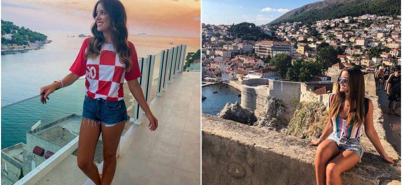 ČILEANSKI MODEL Lijepa Catalina Vallejos oduševljena Dubrovnikom