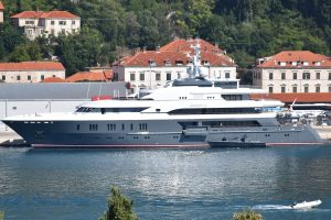 LUKSUZNA JAHTA 'Queen K' ruskog milijardera u Gružu