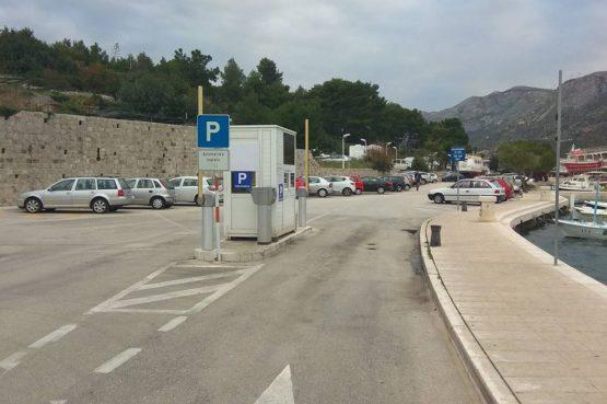 UZ BLAGDAN SVIH SVETIH U Cavtatu do subote besplatan parking
