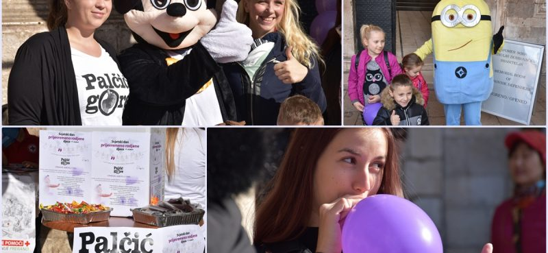 FOTO/'PALČIĆ GORE' ZA MALE BORCE U Hrvatskoj se godišnje prijevremeno rodi 2600 djece