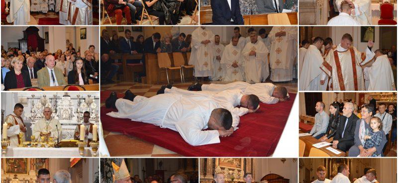 FOTOGALERIJA Dubrovačka biskupija bogatija za tri novozaređena đakona!