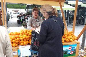 ZADOVOLJNI PROIZVOĐAČI I KUPCI Uspjeh Inicijative Dubrovačko-neretvanske županije za bolji plasman mandarina