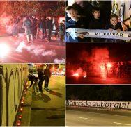 FOTO/VIDEO Torcida odala počast Vukovaru
