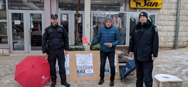 REZULTATI AKCIJE 'MANJE ORUŽJA' Prikupljeno više od 920 kg eksploziva