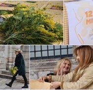 FOTO/TRADICIONALNI 'DAN MIMOZE' Brojni Dubrovčani pridružili se humanitarnoj akciji