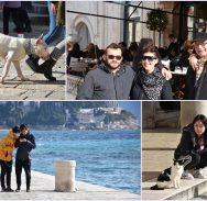 FOTOGALERIJA/Pogledajte tko je uživao u sunčanoj suboti na Stradunu