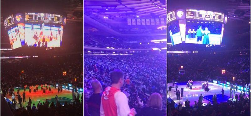 VIDEO/USRED MADISON SQUARE GARDENA Kad zabalaju Linđo na poluvremenu NBA utakmice