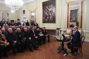 FOTO/ EDUKATIVNO PREDAVANJE HAZU-a Marić: 'Zaleđe je bilo demografski rasadnik Dubrovnika'