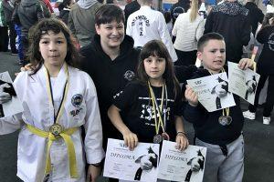 BRAVO NINA, ANA I MIHAEL Tri medalje oko vrata dubrovačkim Sharksima