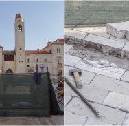 FOTO/Nakon upozorenja jednog Dubrovčanina Grad pristupio sanaciji pločnika