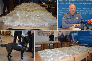 'NANJUŠILA IH MOLLY' Crnogorski državljani 'pali' na granici s preko 60 kilograma marihuane