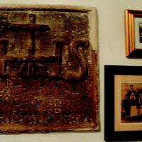 Kameni natpis u kući Dragović