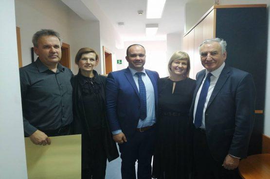 Župan Dobroslavić i zamjenica Marević posjetili Centar za socijalnu skrb Metković