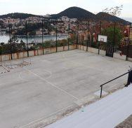 POTPUNO NOVI IZGLED Obnavlja se sportsko igralište na Nuncijati