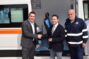 FOTO/Dom zdravlja u Korčuli dobio novo sanitetsko vozilo