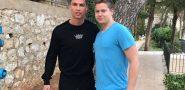 VELIKI FAN IVO 'Ronaldo uopće nije umišljen, odmah je pristao na fotografiju'
