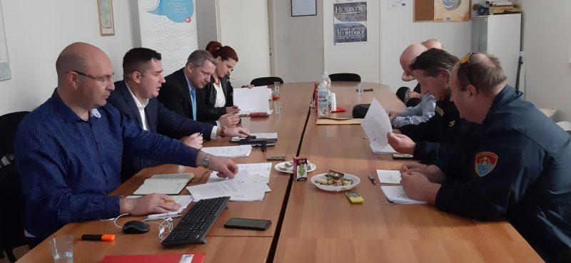 Održana sjednica Stožera civilne zaštite Dubrovačko-neretvanske županije